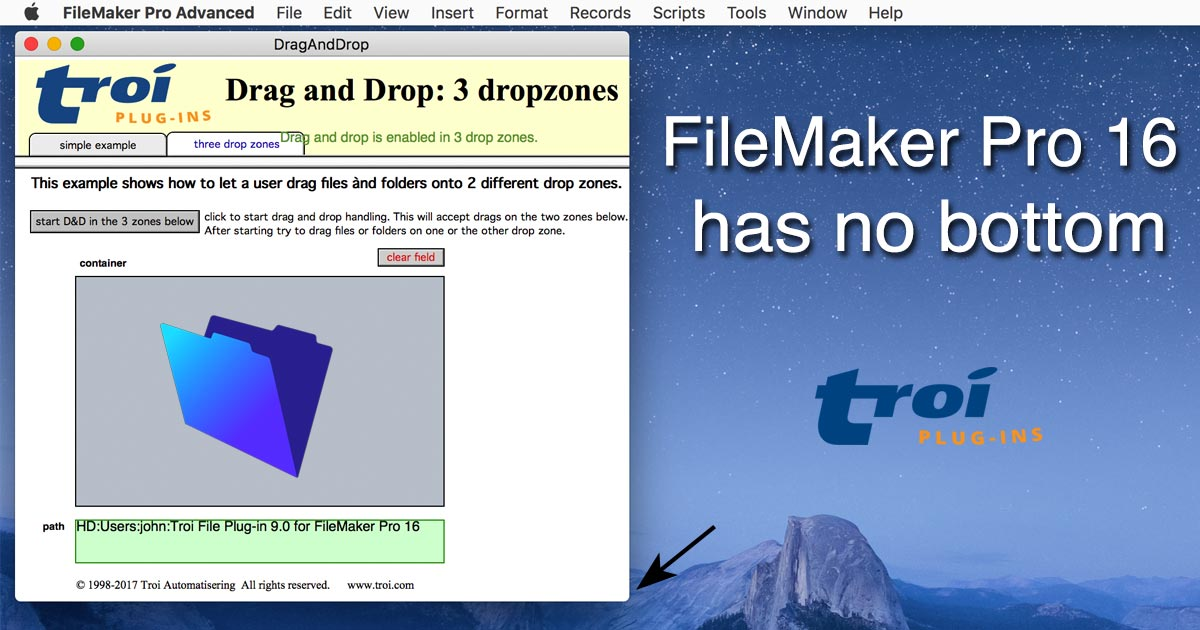 FileMaker Pro 16 has no bottom: see what that means for your